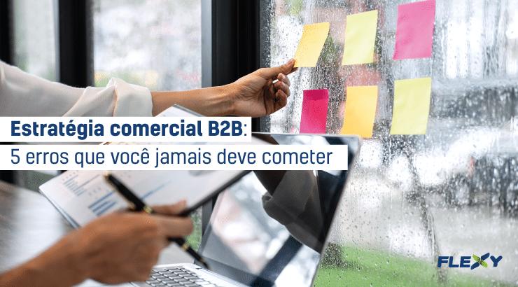 estratégia comercial b2b
