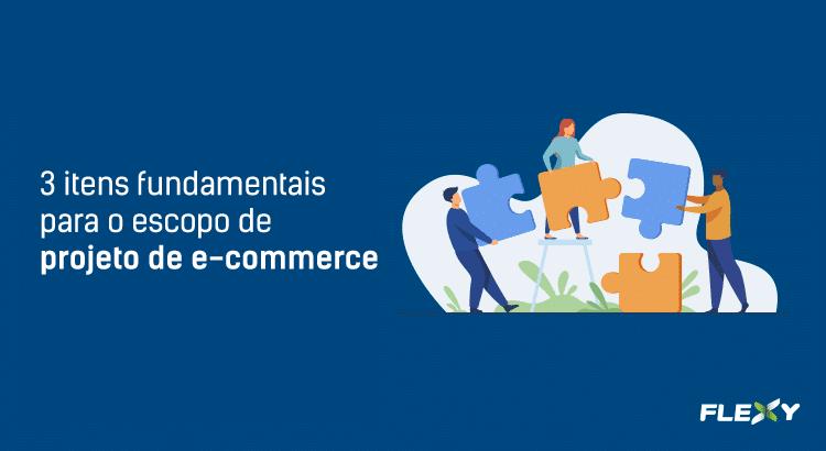 escopo de projeto e-commerce